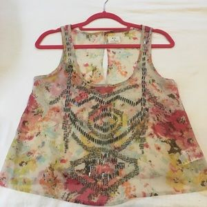 Urban Outfitters Beaded Tank